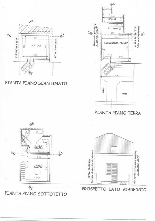 Marina di Pietrasanta, Tonfano Villetta a Schiera