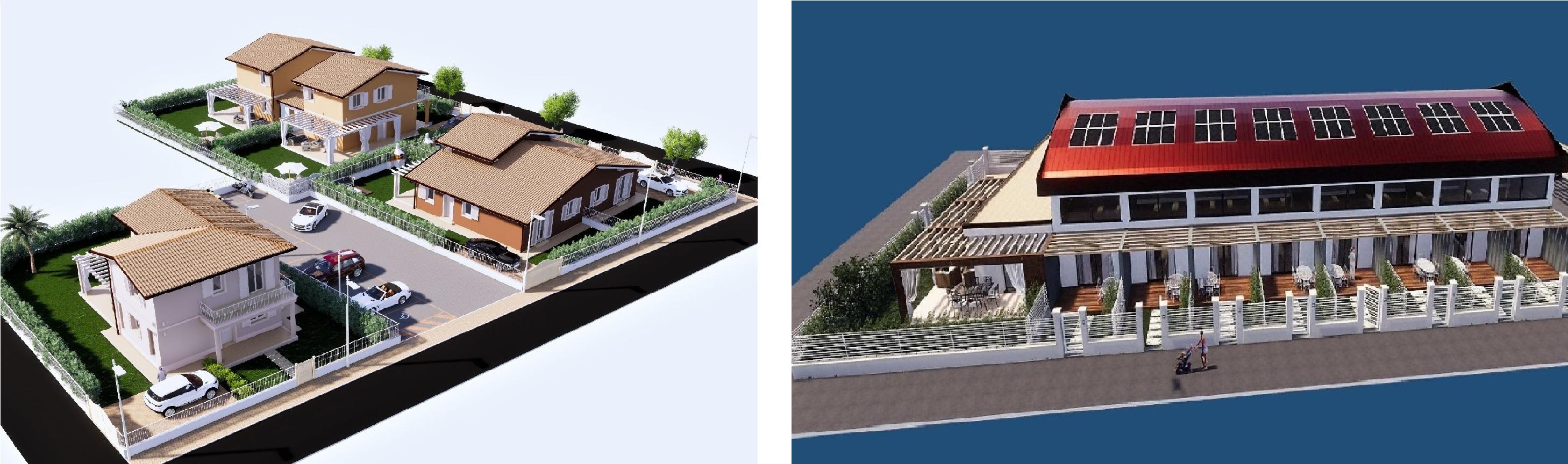 Pietrasanta, Complesso di Nuova Costruzione di Villette Indipendenti
