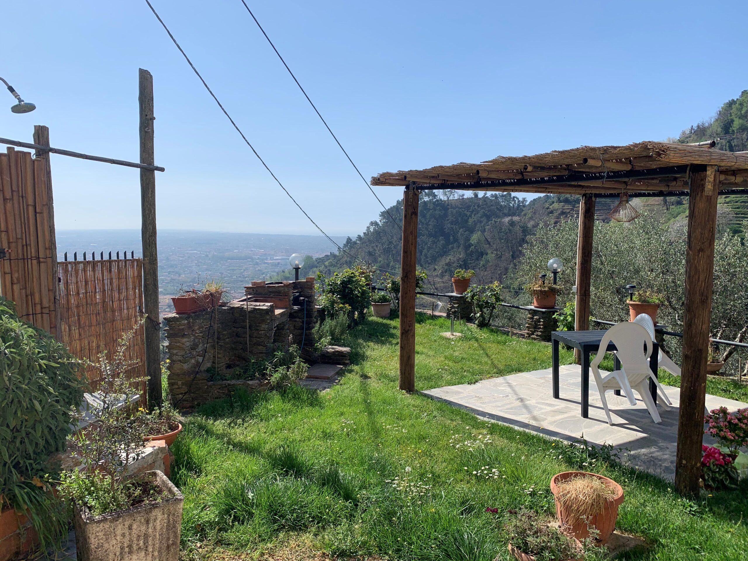 Villa in Prima Collina con Vista Mare a Strettoia. Disponibile Virtual Tour.